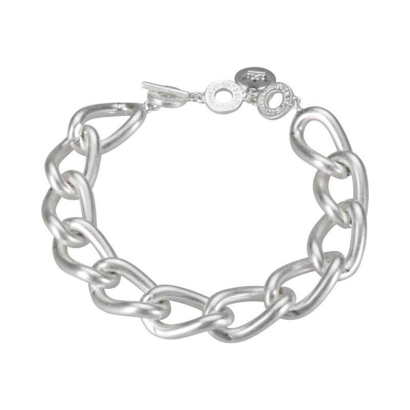 Solar bracelet - matt silver