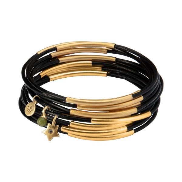UG stack bracelet in before dawn matt gold