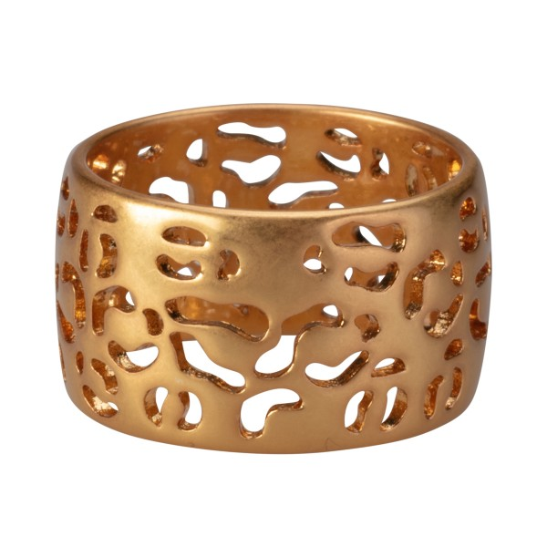 Flora ring in gold 7