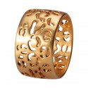 Flora ring in gold 8