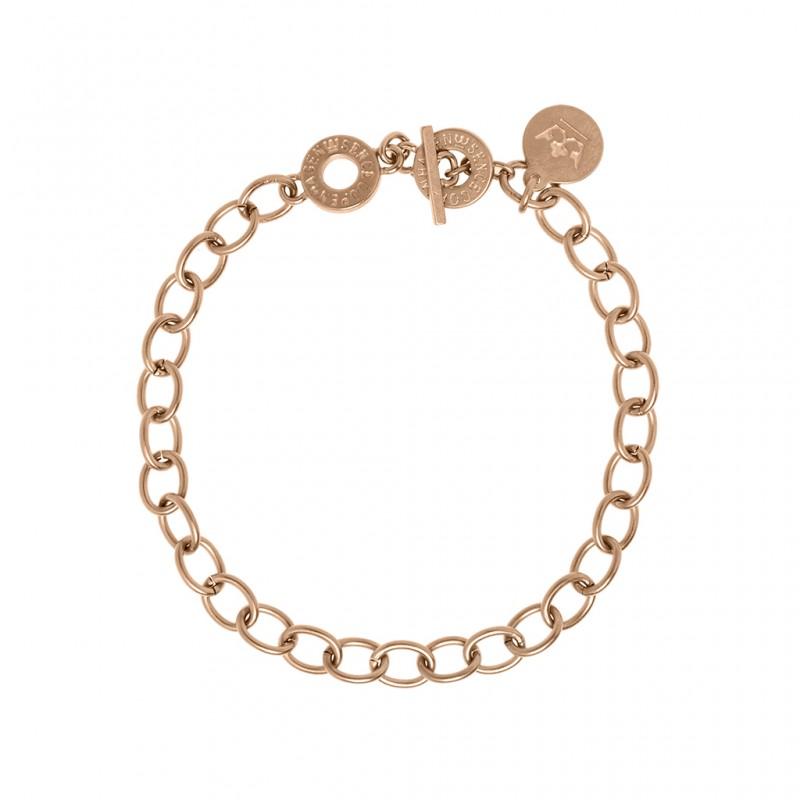 Essentials Amber bracelet in rose gold