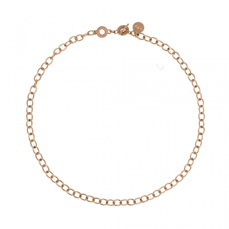 Essentials Amber short necklace in gold