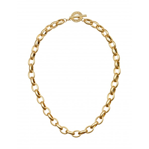 Essentials Beech short necklace in gold