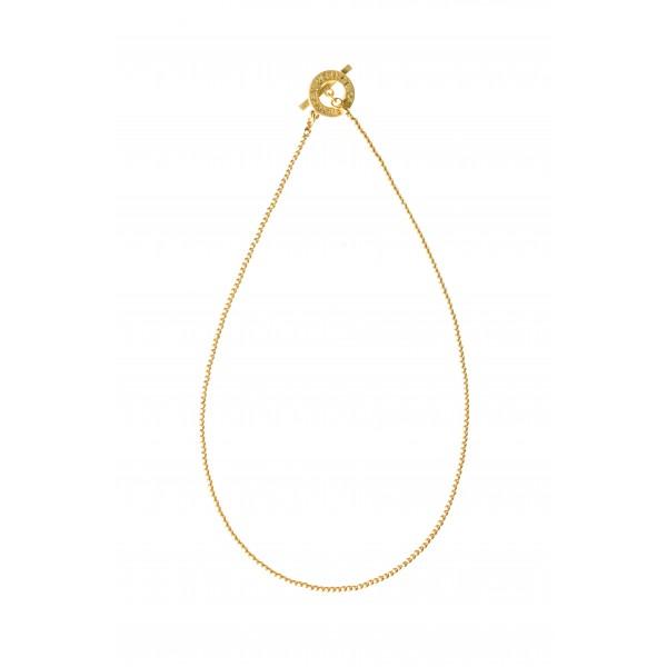Essentials Cedar short necklace in gold