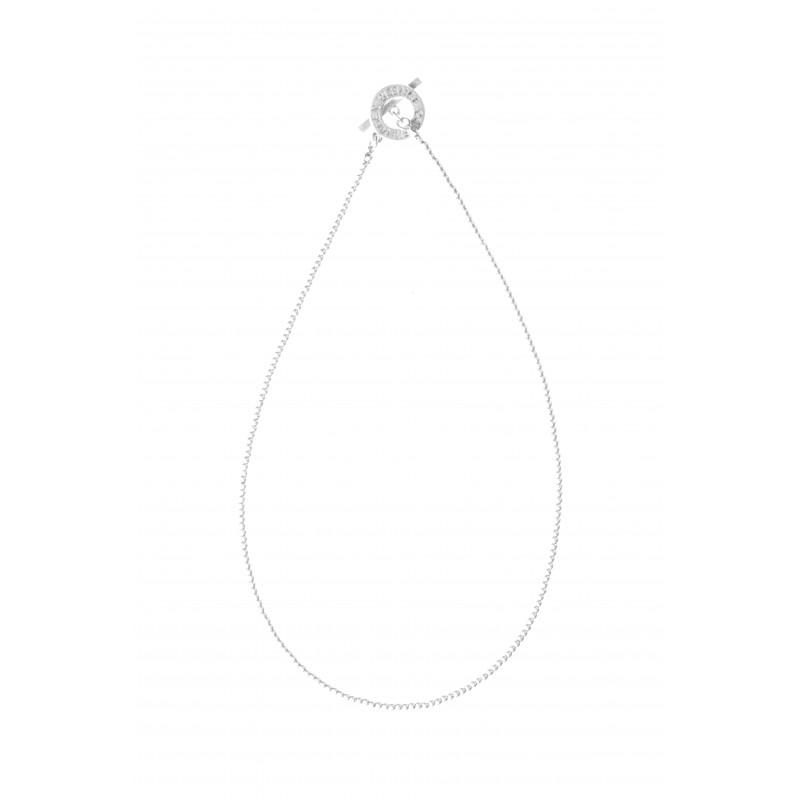 Essentials Cedar short necklace in silver