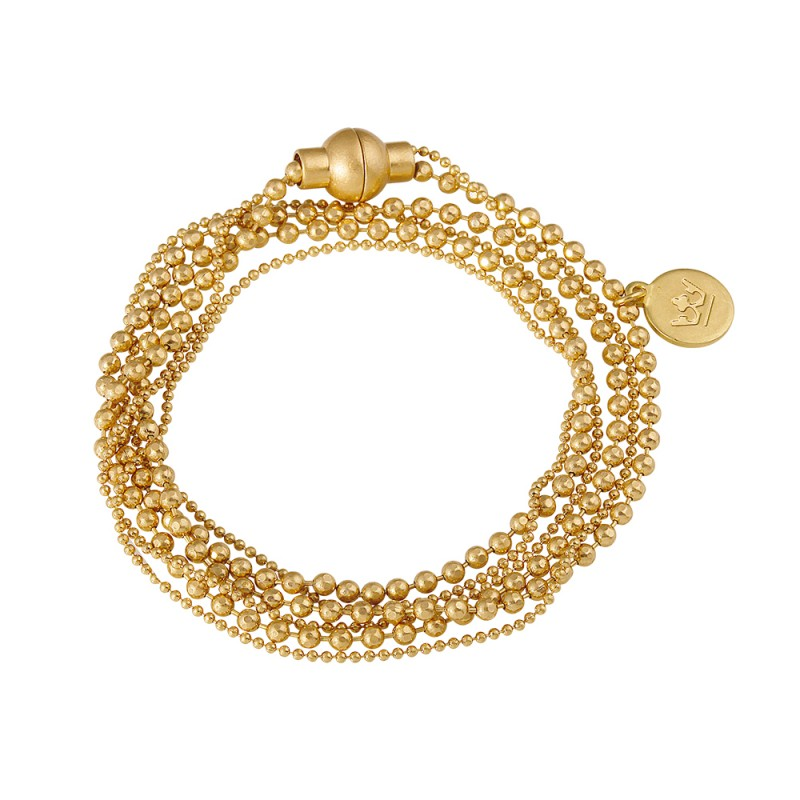 Essentials Figen bracelet in gold