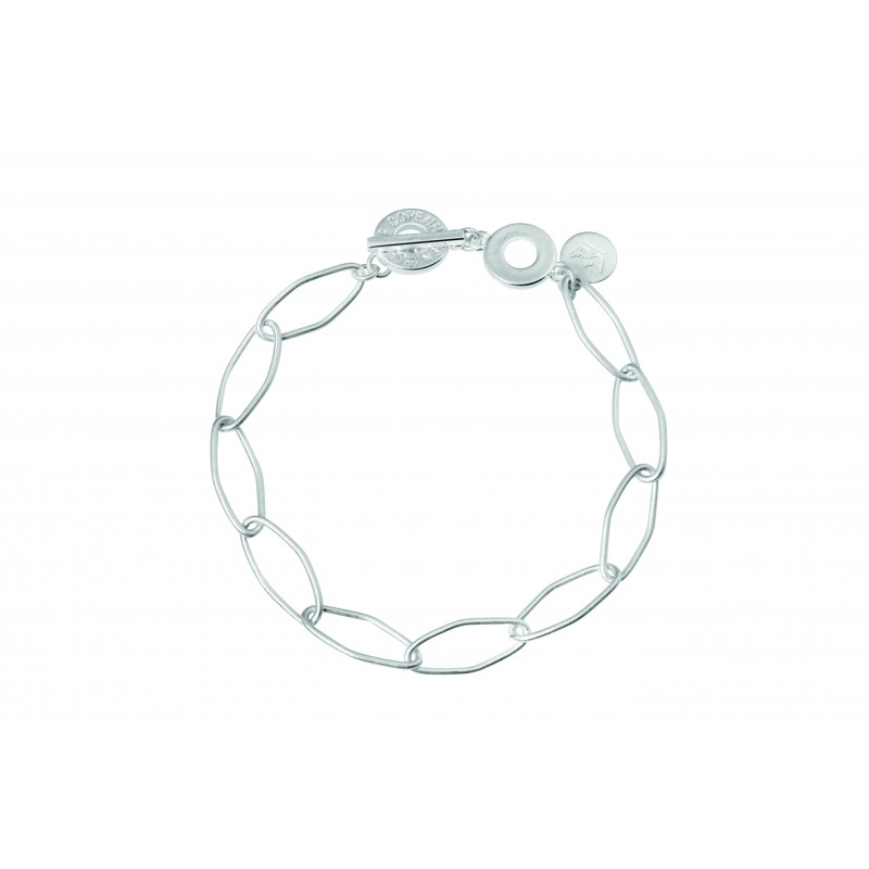 Essentials Spruce bracelet in silver