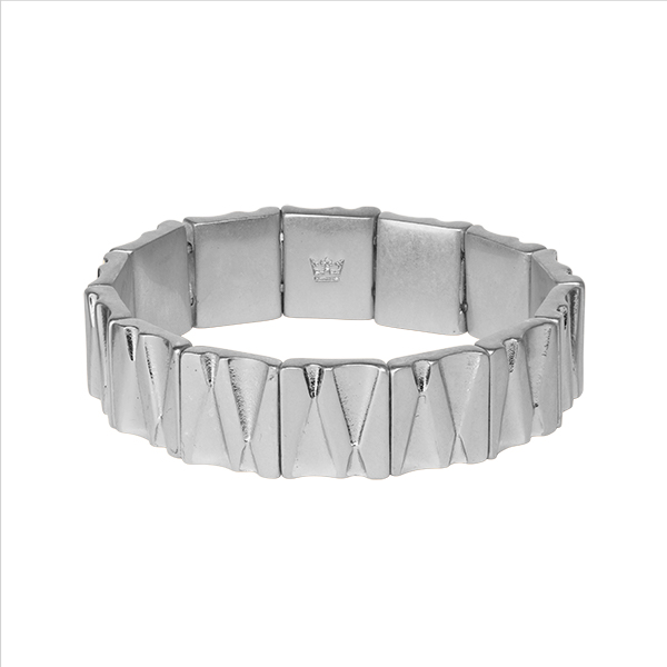 Bridges Bracelet in Plated Silver
