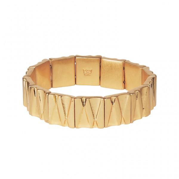 Bridges Bracelet in Plated Gold