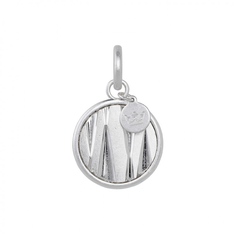 Bridges Charm in Plated Silver