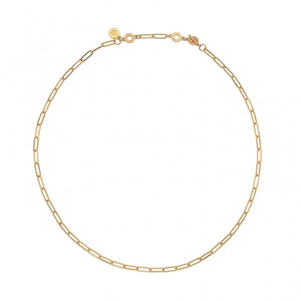 Bridges Medium  Necklace in Plated Gold
