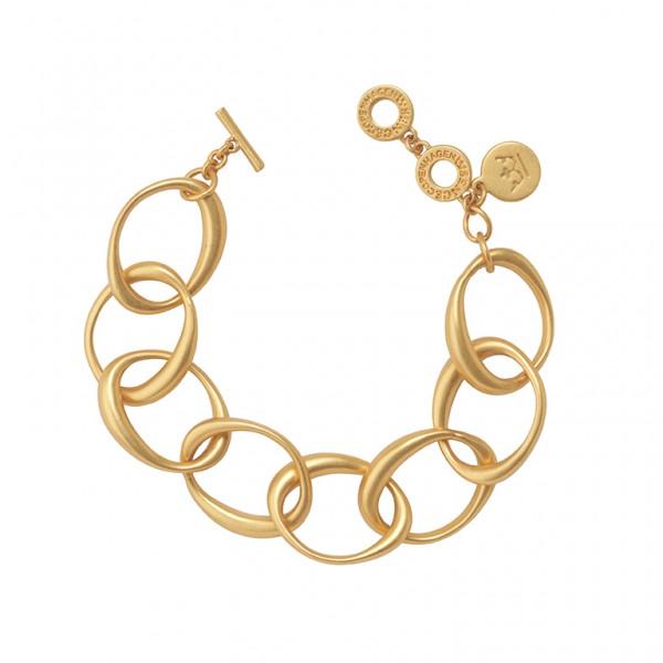 KBS Bracelet in Plated Gold