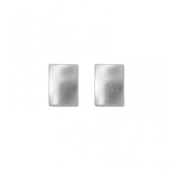The Lakes ear studs in plated silver