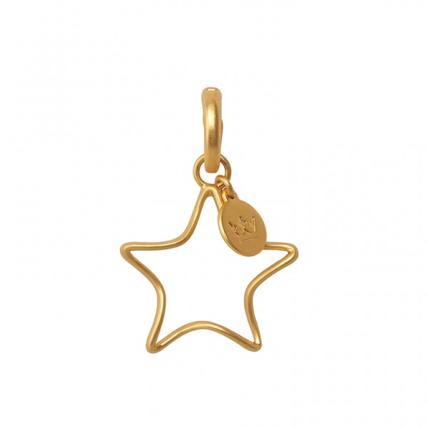 The Soul Charm in Plated Gold