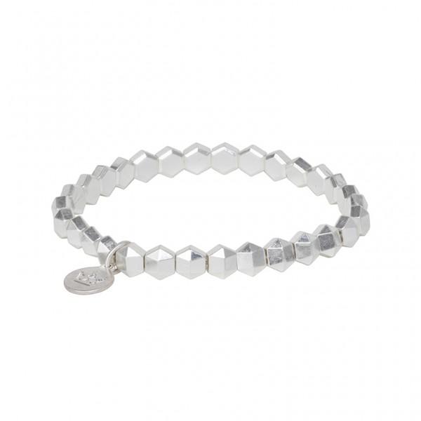 The Taste bracelet in plated silver