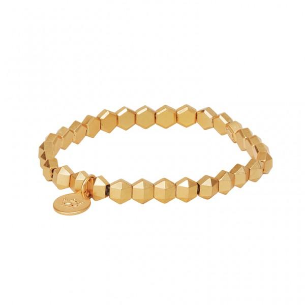 The Taste bracelet in plated gold