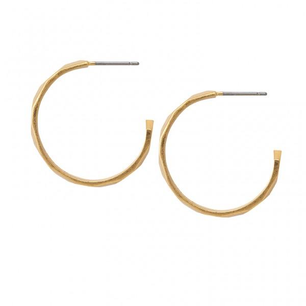 The Taste earrings in plated gold