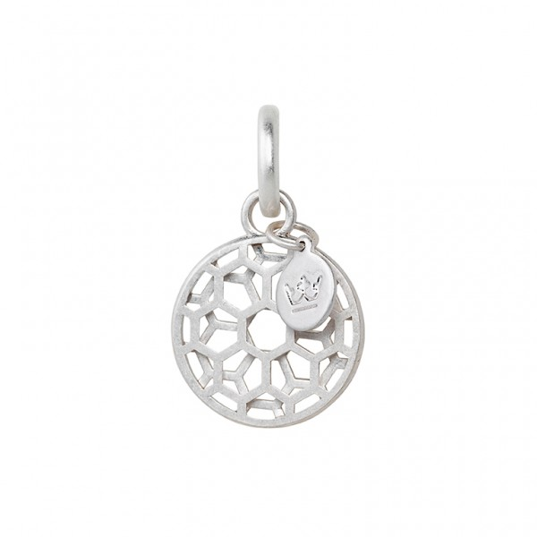 The Taste charm in plated silver
