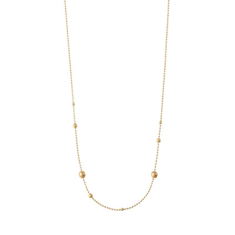 Dance Winter Dew Long Necklace in Silver