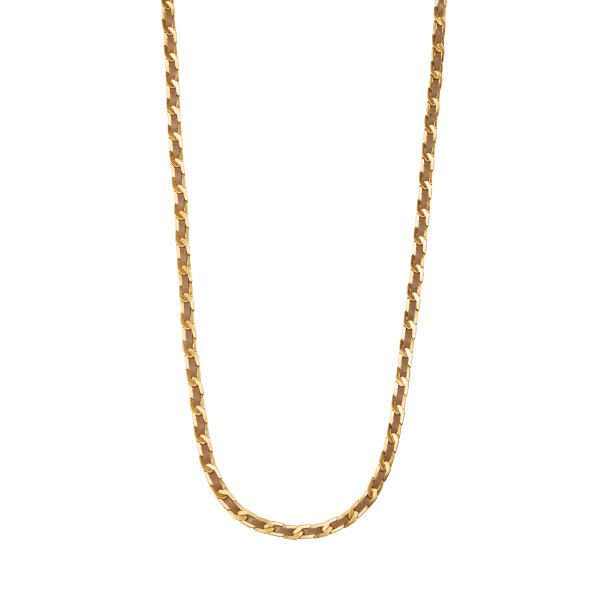 Poem Naja Long Necklace in Gold