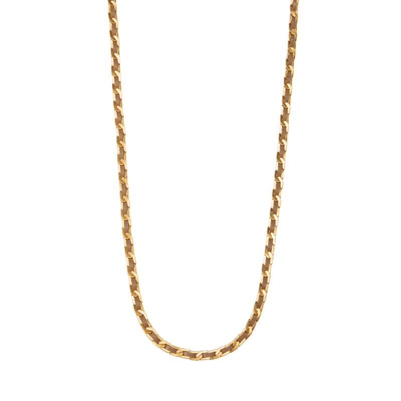 Poem Naja Long Necklace in Gold