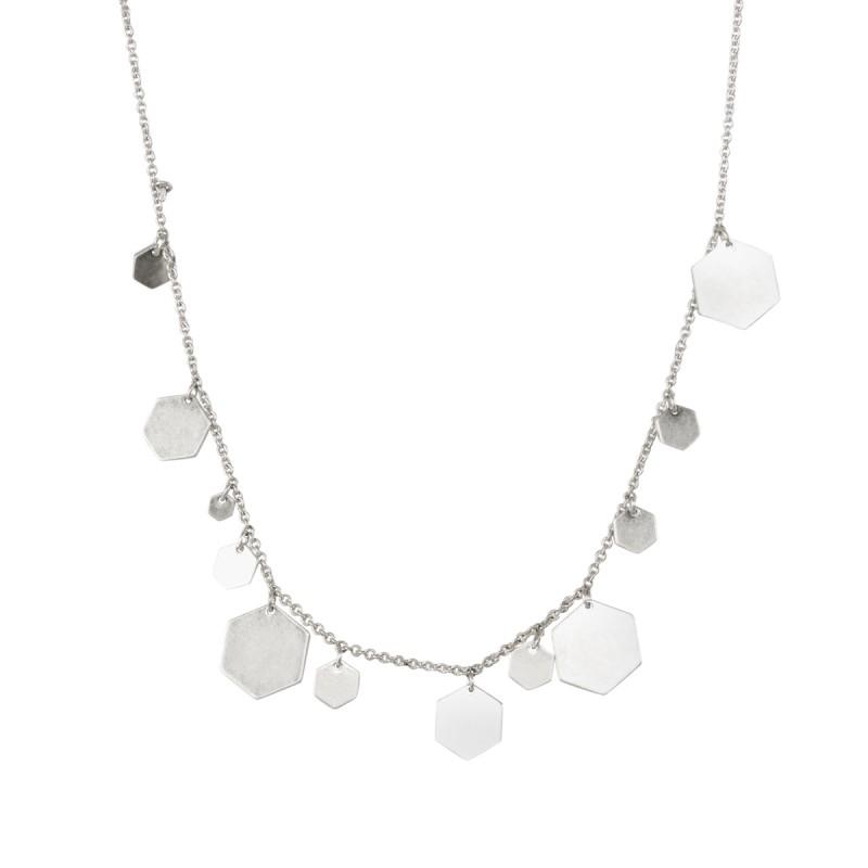 Shadow Necklace in Silver